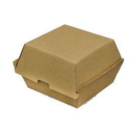 PAPER BOARD BURGER BOX 105x102x85mm (250