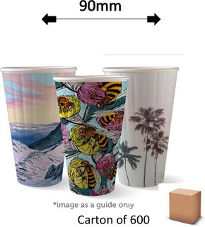 16oz DOUBLE WALL ART COFFEE CUPS (600)
