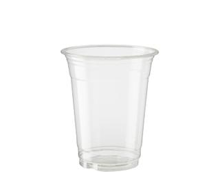 350ml PET (MC12) PLASTIC CUPS (50 P/SLV)