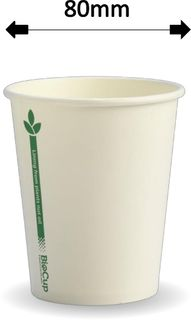 8oz GREEN LINE S/WALL COFFEE CUP (1000)