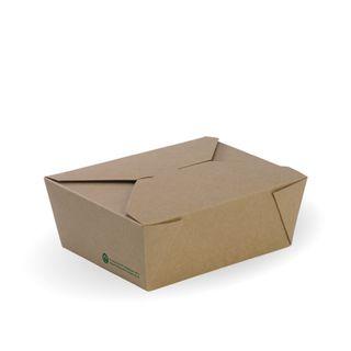 MEDIUM BROWN LUNCHBOX 152x120x64 (200)