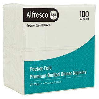 Pocket-Fld Quilted Dinner Napkin GT (900