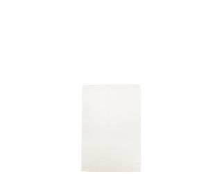 1 lb SQUARE WHITE PAPER BAGS 165x185(500