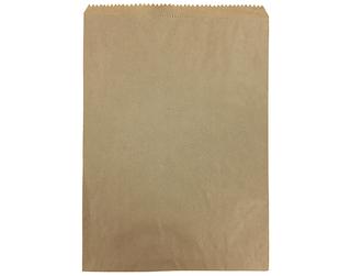 6lb FLAT BROWN PAPER BAGS 235x335 (500)