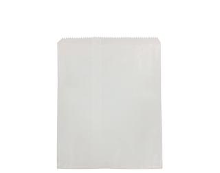 8lb FLAT WHITE PAPER BAGS 255x335 (500)