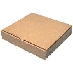 """10.75"""" PLAIN """"BROWN"""" PIZZA BOXES (100)"""