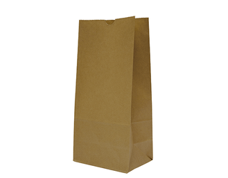 "BROWN PAPER BAG ""12"" 340x178x110 (1000)"