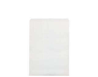 6lb FLAT WHITE PAPER BAGS 235x335 (500)