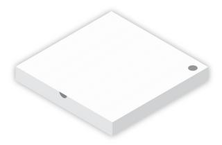 """9"""" PLAIN PIZZA BOXES (100)"""