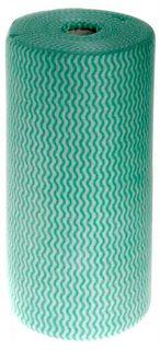 GREEN CHUX ROLL (85 WIPES/ROLL) H/DUTY