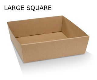 SQUARE CATERING TRAY-LGE 280x280x80 (100