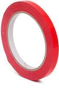 RED PVC TAPE 66m X 12mm