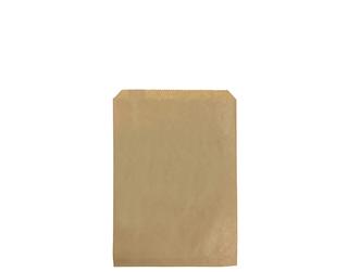1lb FLAT BROWN PAPER BAGS 165x185 (500)