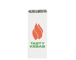 PRINTED KEBAB BAGS 100x40x240 (250 P/PKT