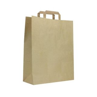 MEDIUM FLAT HANDLE BAG 330x320x150 (200)