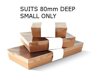 SLV TO SUIT 80mm -SML (50)WHITE