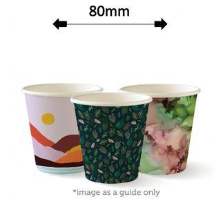 6oz SINGLE WALL ART COFFEE CUPS (1000)