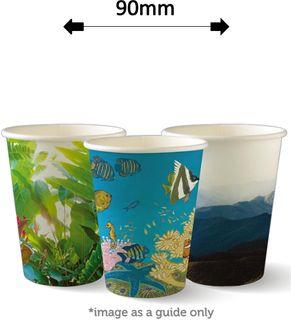 12oz SINGLE WALL ART COFFEE CUPS (1000)
