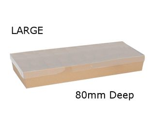 BROWN CATERING TRAY-LGE 560x255x80 (50)