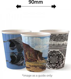 12oz DOUBLE WALL ART COFFEE CUPS (40)