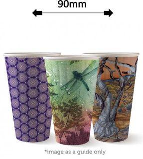 16oz DOUBLE WALL ART COFFEE CUPS (40)