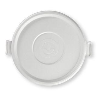 SUGARCANE WHITE LID SUITS 24/32/40 (400)