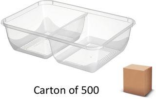 2-COMP 650ml PLASTIC CONT. BONSON (500)