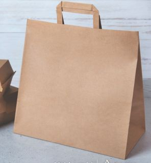 DELIVERY FLAT HANDLE BAG 305x305x175(250