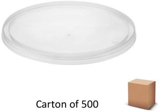 """ROUND LIDS TO SUIT """"B"""" CONTAINERS (500)"""