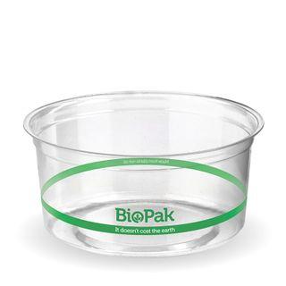 CLEAR PLA BIOBOWL 360ML (500)