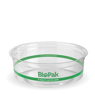 CLEAR PLA BIOBOWL 240ML (500)