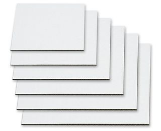 """6"""" CAKE SQUARE (50) 2mm THICK"""