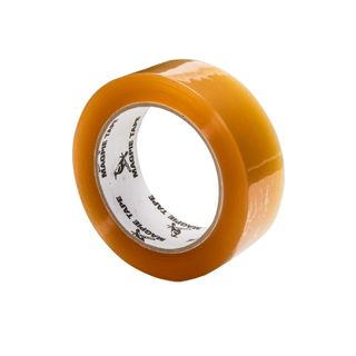 CLEAR PACKAGING TAPE 75m X 25mm (6rolls)