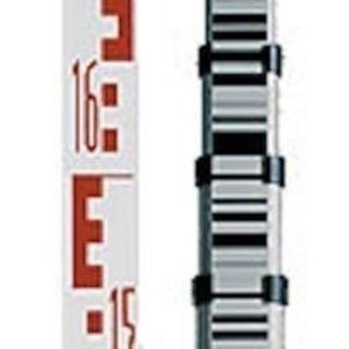 Aliuminum rab-code staff 5m, 5 section