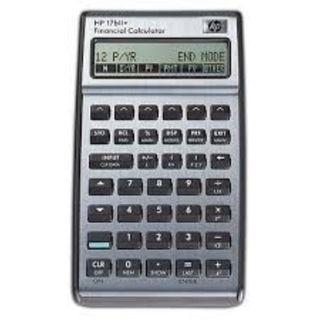 HP 17BII+ calculator
