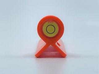 Plastic staff bubble orange
