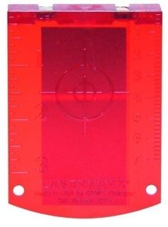 Red magnetic grid target