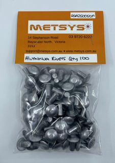 Aluminium survey rivets
