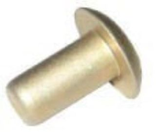 Aluminium survey rivets