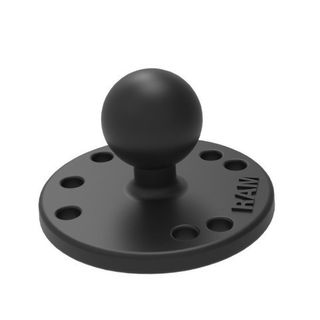 round mount plate with ball