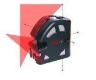 XB 590K Cross + 5 dot line laser complet