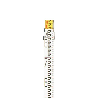 MYZOX 3 meter metric staff