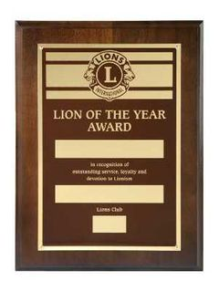 Lion of the Year