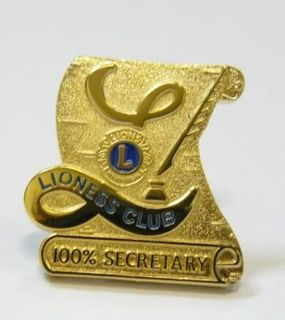 Lioness 100% Secretary Award