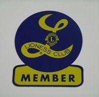 "3"" Lioness New Member Decal"