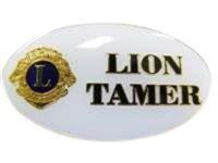 Lion Tamer Badge