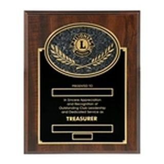 Treasurer Plaque - c
