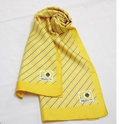 Centennial Yellow Silk Scarf