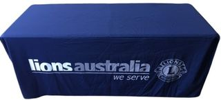 Lions Australia Table Cover