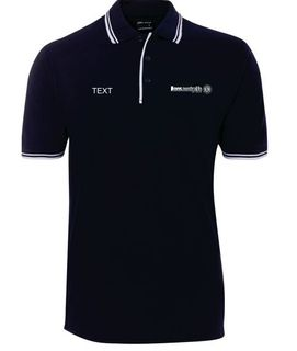 Navy Mens Polo Shirt 5XL